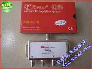 有源卫星信号四路功分器 佳讯GS02-04