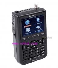 Satlink WS-6908 DVB-S 卫星视频解码寻星仪 全球出口