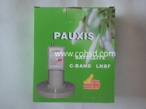普斯PX800高增益C波段高频头超强信号 带三环馈源盘
