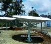 华信3.0米C/Ku波段卫星接收天线