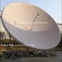 华达玻璃钢3.7米卫星天线 华达天线3.7M 工程热浸镀锌 信号好