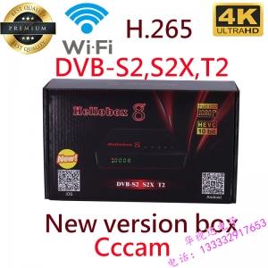 Hellobox 8 Satellite TV Receiver DVB-S2 / T2 / S2X TV Tuner