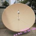 华达3米卫星天线锅电视机房电视台工程华达3米C波段玻璃钢天线热浸镀锌